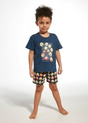 Piżama Cornette Kids Boy 789/76 Emoticon kr/r 86-128