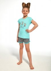 Piżama Cornette Kids Girl 247/66 Zebra kr/r 86-128