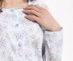 Piżama Luna 456 dł/r 3XL-4XL
