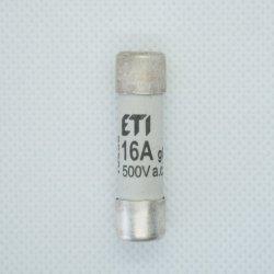 Wkładka bezpiecznikowa 10x38 16A 500V AC ETI