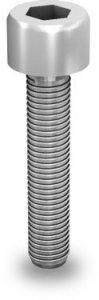 K2 Śruba imbusowa, M8x65 (stal nierdzewna 'A2') z ząbkowaniem (nie wymaga podkładki)