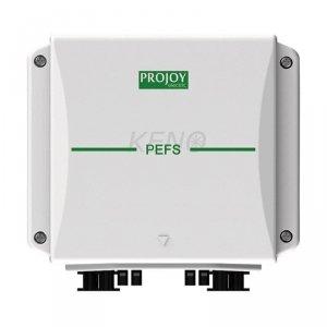 PROJOY Przeciwpożarowy wyłącznik bezpieczeństwa z automatycznym załączeniem obwodu DC po powrocie zasilania AC, 4 łańcuchy DC
