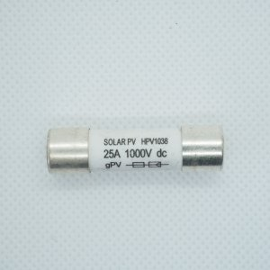 Wkładka bezpiecznikowa 10x38 25A 1000V DC Solar PV
