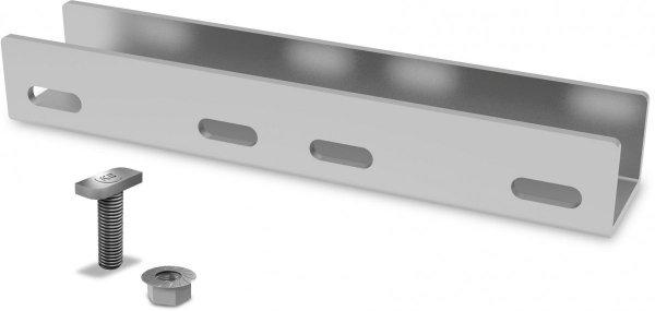 K2 zestawy zlaczy do polaczenia dwóch szyn aluminiowych typu SingleRail (w tym 4 sruby z nakretami)