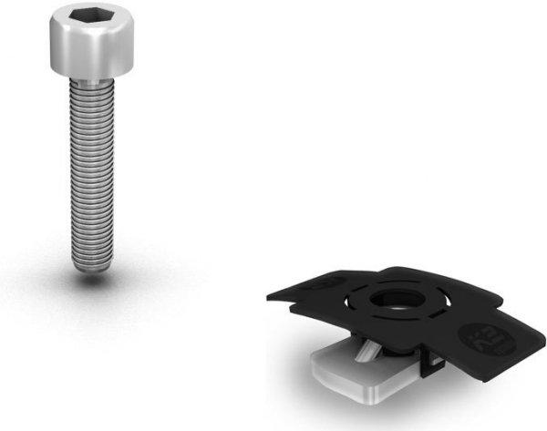 K2 Dome Porter zestwa śrób - element nośni z zestawm śrub (2 na moduł)