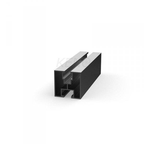 Profil aluminiowy z głębokim kanałem 4220mm (K-36-4220)
