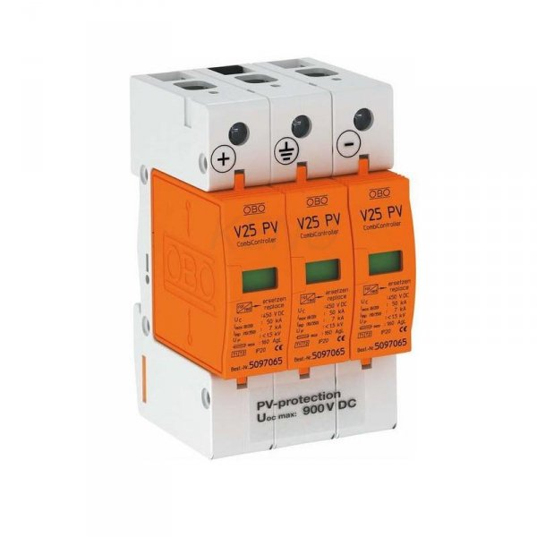 Ogranicznik przepięć typ I + II DC 900V, V25-B+C 3-PH900
