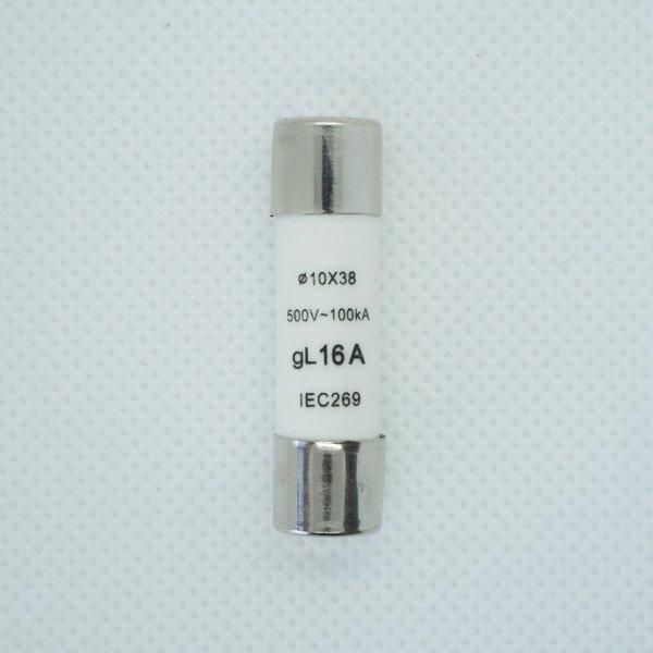 Wkładka bezpiecznikowa 10x38 16A 500V AC gL