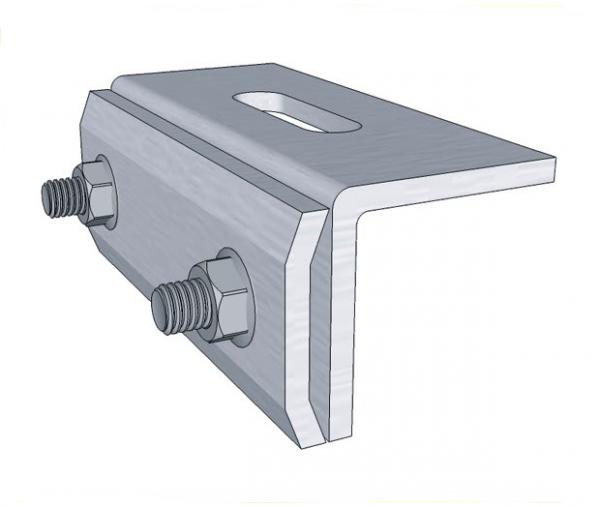 Uchwyt montażowy z regulacją (rąbek blaszany)