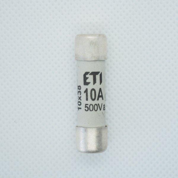 Wkładka bezpiecznikowa 10x38 10A 500V AC ETI