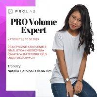 Szkolenie PRO Volume Expert - Katowice 30.06.2019 - prowadzą Natalia Halbina i Olena Lim - REZERWACJA