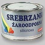 Farba żaroodporna srebrzanka 0,25l