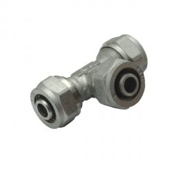 Trójnik skręcany 16x16x16 PEX-PEX-PEX równoprzelotowy