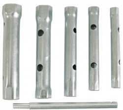 Klucze rurowe komplet 10szt 6-22 mm