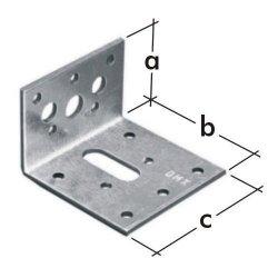 Łącznik budowlany KR2 kątownik z regulacją