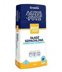 ACRYL-PUTZ FD12 FASADA 5kg gładź szpachlowa zewnętrzna