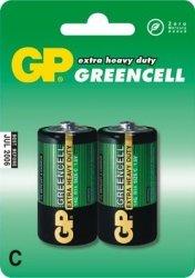 GP Bateria cynkowo-chlorkowa R14 Greencell BL/2