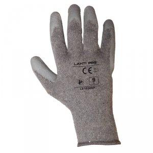 Rękawice ochronne bawełniane pokryte lateksem LahtiPRO