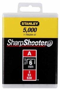 Zszywki tapicerskie STANLEY A 5/53/530 6mm