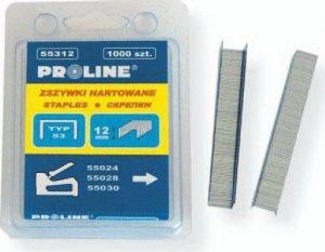 Zszywki tapicerskie hartowane TYP53 12mm