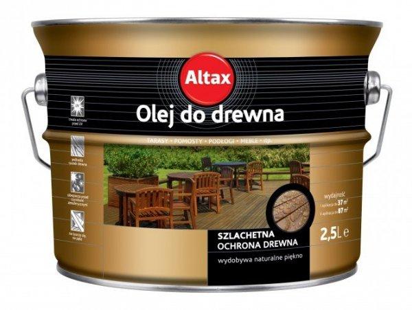 Olej do drewna kasztan 0,75L ALTAX