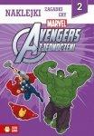 Avengers zjednoczeni - naklejki, zagadki, gry (2)