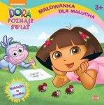 Dora poznaje świat. Malowanka dla malucha