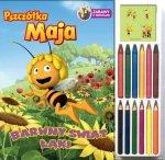 Barwny świat łąki. Pszczółka Maja