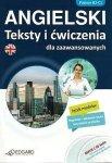 Angielski. Teksty i ćwiczenia dla zaawansowanych (książka + 2 płyty CD Audio)