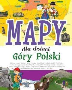 Mapy dla dzieci. Góry Polski