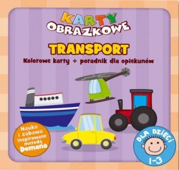 Transport. Karty obrazkowe (wiek 1-3 lata) + poradnik dla opiekunów