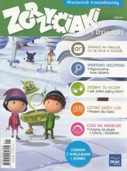 Zgrzyciaki i dzieciaki. Miesięcznik trzecioklasisty - styczeń. 01/2016