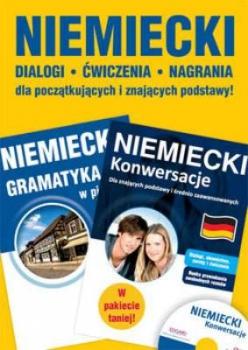 Pakiet: Niemiecki. Konwersacje / Niemiecki. Gramatyka w pigułce