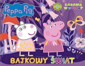 Peppa Pig. Bajkowy świat. Zabawa w kolory