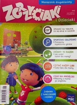 Zgrzyciaki i dzieciaki. Miesięcznik drugoklasisty - maj. 05/2016