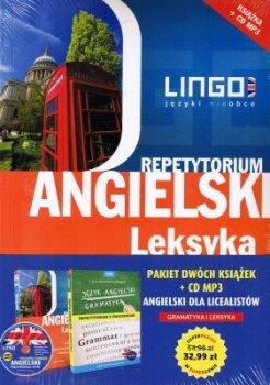 Pakiet dwóch książek + CD MP3. Angielski dla licealistów