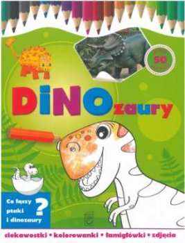 Dinozaury. Kolorowanka