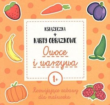 Owoce i warzywa. Książeczka + karty obrazkowe (wiek 1+)