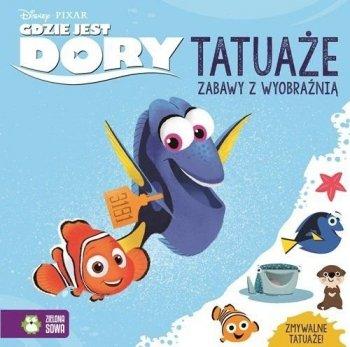 Gdzie jest Dory? Tatuaże. Zabawy z wyobraźnią