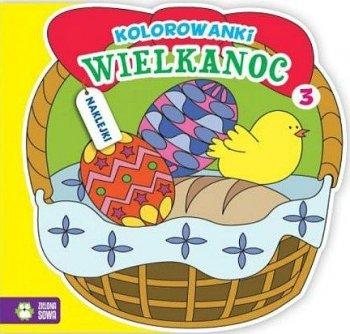 Wielkanoc. Kolorowanki, zeszyt 3