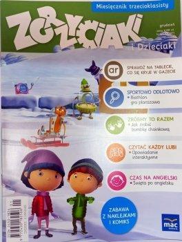 Zgrzyciaki i dzieciaki. Miesięcznik trzecioklasisty - grudzień. 01/2015