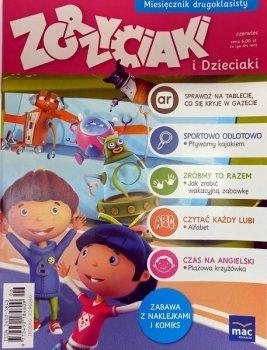 Zgrzyciaki i dzieciaki. Miesięcznik drugoklasisty - czerwiec. 06/2016