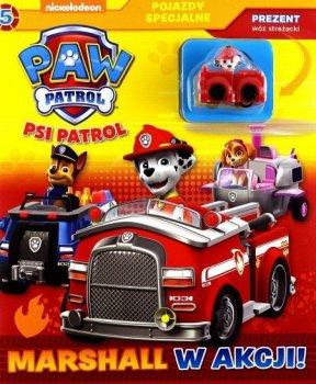 Psi patrol. Pojazdy specjalne. Tom 5. Marshal w akcji!