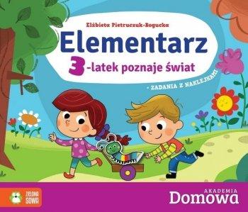 Elementarz: 3-latek poznaje świat. Akademia Domowa