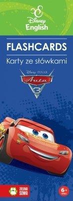 Flashcards. Karty ze słówkami. Auta 3. Disney English