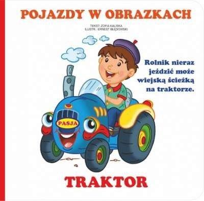 Pojazdy w obrazkach. Traktor