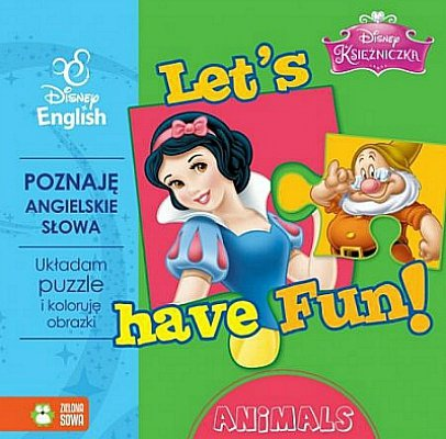 Let's have fun. Animals. Książeczka z puzzlami