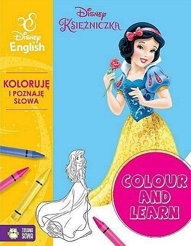 Disney English. Colour and learn. Księżniczki