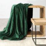 Koc CINDY2 70X160 Ciemny Zielony Design 91