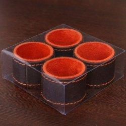 Pierścień 101 Brązowo Pomarańczowy X4